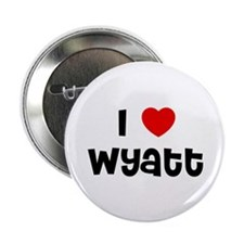 "I * Wyatt 2.25"" Button (10 pack)"