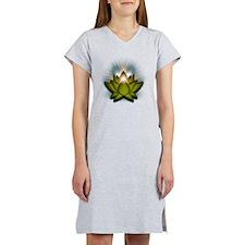 Chakra Lotus - Heart Green Women's Nightshirt