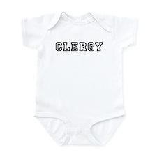 Clergy Infant Bodysuit