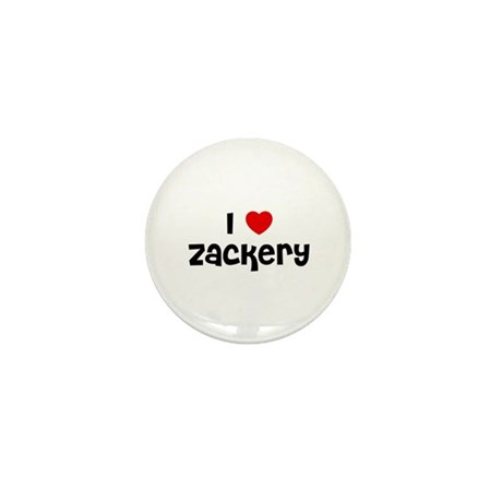 I * Zackery Mini Button (10 pack)