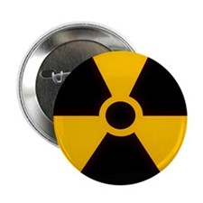 "Nuclear Meltdown Warning 2.25"" Button (10 pack)"