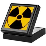 Nuclear Meltdown Warning Keepsake Box