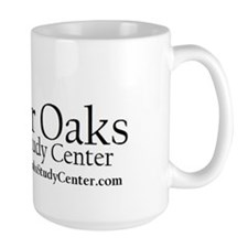 River Oaks with url 10 inch Mug