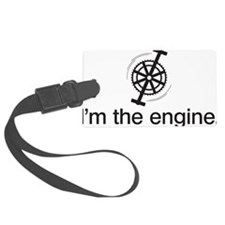 imTheEngineBLK Luggage Tag