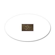 MiniWalletOm1 20x12 Oval Wall Decal