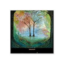 """16x20-bkArt-trees(1) Square Sticker 3"""" x 3"""""""