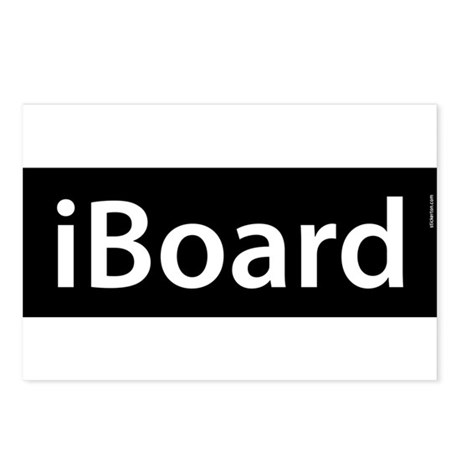 iBoard Postcards (Package of 8)
