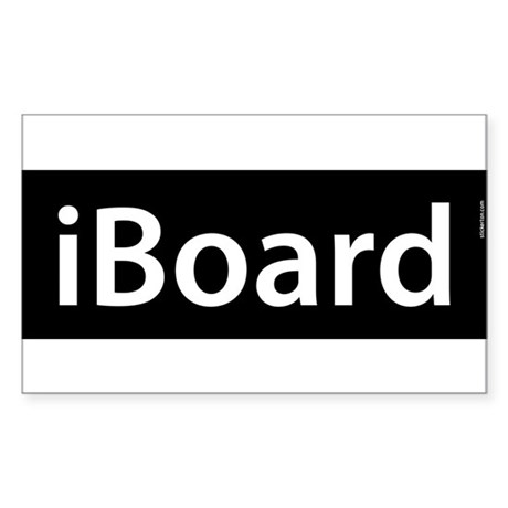 iBoard Rectangle Sticker