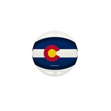 Colorado State Flag Mini Button (10 pack)