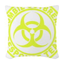 zombieOutbr1E Woven Throw Pillow