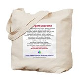 Asperger Facts Tote Bag