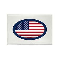 U.S. Flag Rectangle Magnet (100 pack)