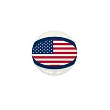 U.S. Flag Mini Button (100 pack)