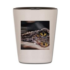 alleyegator Shot Glass
