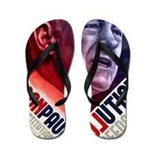 23x35 Ron Paul Revolution Poster Flip Flops