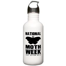 National Moth Week 201 Water Bottle