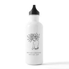 Unruly Looking Back.gi Water Bottle