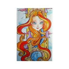 rapunzel 1 Rectangle Magnet