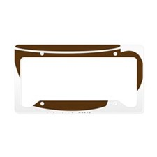 coffee1 License Plate Holder