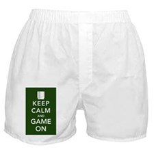 game on poster Boxer Shorts