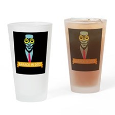 obama-pop-rect Drinking Glass