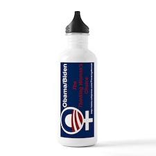 SIDEWAYS FLIP Obama Th Water Bottle