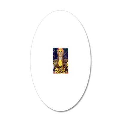 RM Klimt 32 20x12 Oval Wall Decal