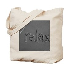 relax bw 8x10 Tote Bag