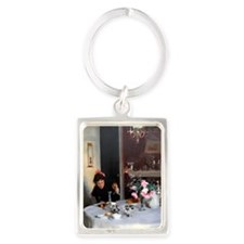 RM Sargent 1 Portrait Keychain