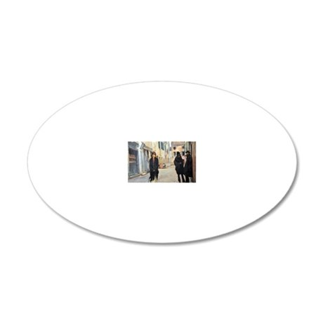 RM Sargent 6 20x12 Oval Wall Decal