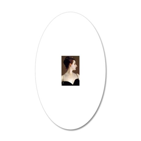 RM Sargent 17 20x12 Oval Wall Decal