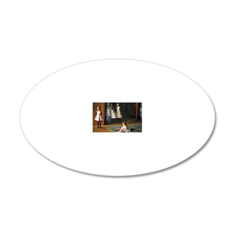RM Sargent 16 20x12 Oval Wall Decal