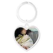 RM Sargent 24 Heart Keychain