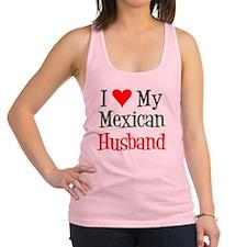 Love My Mexican Husband Racerback Tank Top