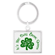 being green Landscape Keychain