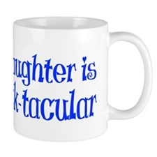 blue dot tacular hat Mug