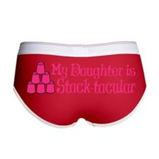 pink dot tacular hat Women's Boy Brief