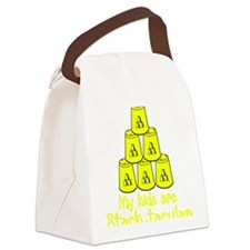 yellow Stack-tacular Canvas Lunch Bag