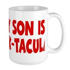 red My Son Stack-tacular hat Mug