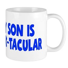 blue My Son Stack-tacular hat Mug
