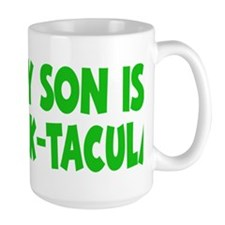 green My Son Stack-tacular hat Mug