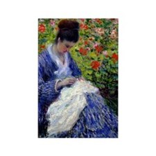 441 Monet Camille Rectangle Magnet