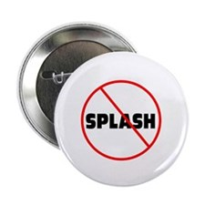 "DiveChick No Splash 2.25"" Button (10 pack)"