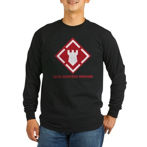 SSI - 20th Engineer Brigade with Text Long Sleeve