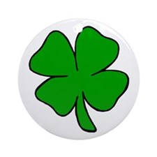 Four Leaf Clover Ornament (Round)