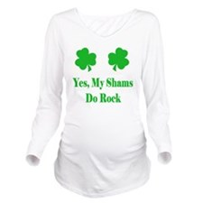 SaintPatricksDaySham Long Sleeve Maternity T-Shirt
