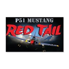 Red Tail 8x8 Wall Decal