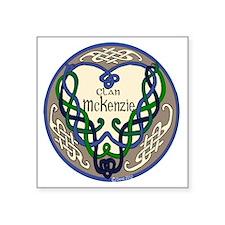 """McKenzie Heart Square Sticker 3"""" x 3"""""""