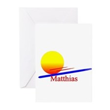 Matthias Greeting Cards (Pk of 10)