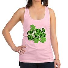 88472 CHEERS Racerback Tank Top